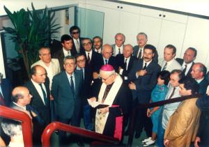 Inaugurazione del 1987 della sede di Corso Stamira